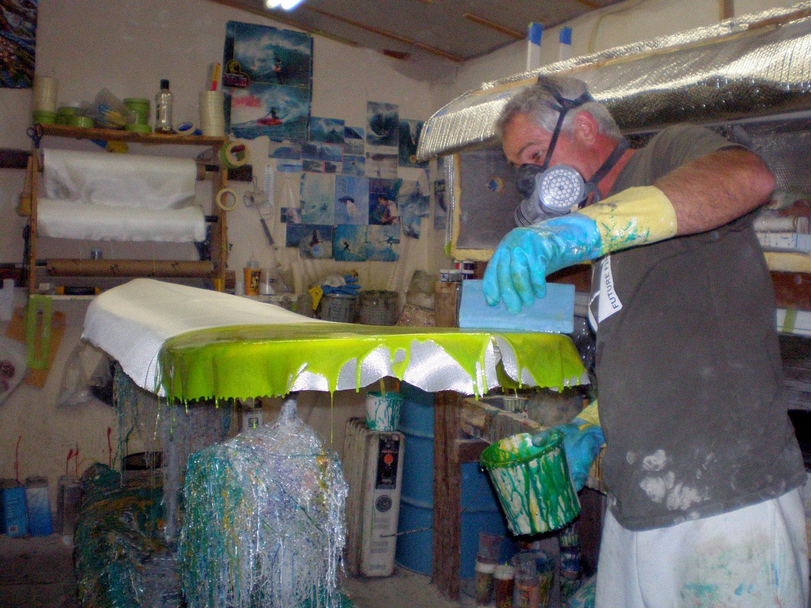 Vince Broglio | Board Builder | Resin Artist